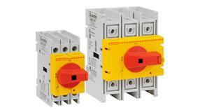 Switch disconnector GA...A RY series with yellow/red direct operating handle